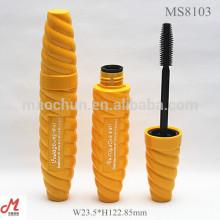 MS8103 Einzigartige Design Schraube Form Kunststoff Wimperntusche Rohr Verpackung