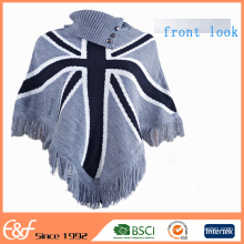 Custom Ladies Winter Poncho Coats Free Knitted Poncho Patterns