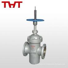 Bloqueo manual de la válvula de compuerta de placa plana WCB