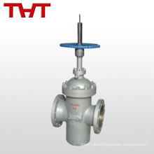 WCB manual flat-plate gate valve lockout
