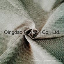 14 País de Gales 100% Tela de algodón orgánico para prendas de vestir (QF16-2673)