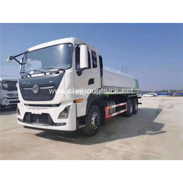 Dongfeng 6x4 rear axles water truck