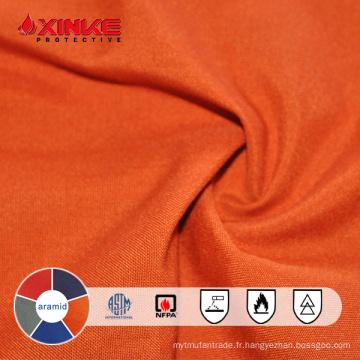 Tissu ignifuge de qualité supérieure largement utilisé
