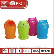plastic dustbin/garbage bin/waste bin 1.4L/2.8L