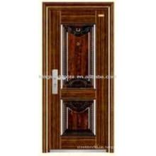 Luxus Design Stahl Sicherheit Tür/Eingang Tür KKD-304 aus China-Hersteller