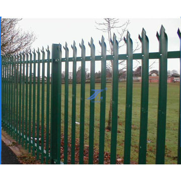 Garden Palisade Fencing with W Type (TS-L142)