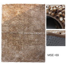 Chenille Space Dyed benang Mat
