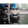 Acanalada acero techo rollo formando la línea de producción de la máquina