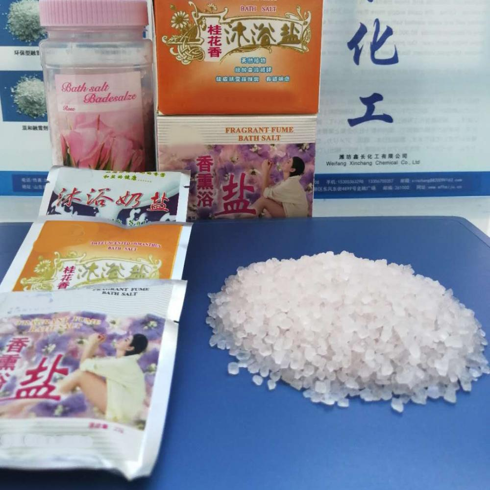 Scented Bathing Additive Crystal Salt