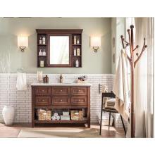 Muebles de baño moderno de la venta caliente y nuevo diseño Vanity de la vanidad del cuarto de baño del MDF