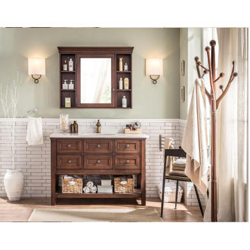 Hot Sale Modern Bathroom Furniture and New Design MDF Bathroom Vanity Hotel Vanity