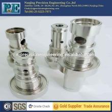 Plating steel cnc Turnedcoupling parts