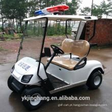Carrinho de golfe policial de 2 assentos