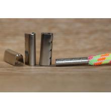 Atacado metal cordão fim latão / aglets metal / dicas de cadarço para cadarço