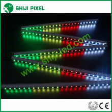 Programmable arduino-compatible 48pcs/m LED dmx512 rigid led wash bar led linear light