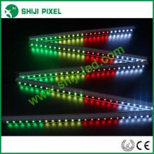 Programável arduino-compatível 48 pcs / m LED dmx512 levou barra de lavagem rígida levou luz linear