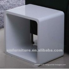 Beautiful high gloss white MDF End table