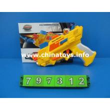 B / O pistola de projeção com som \ luz (AZUL AMARELO) (797312)