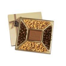 Boite à chocolats avec couvercle transparent