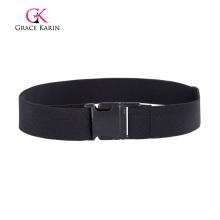 Grace Karin Adjustable Length Plastic Buckle Stretchy Elastic Waist Belt Waistband CL010493-1