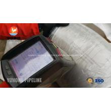 Soldadura de montaje codo ASTM A403 WP321 a tope