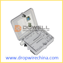 12 Cores Wall Mount Fiber Optic Terminal Box