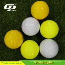 Bola de golf en blanco barata y de alta calidad al por mayor