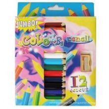 Kunst ColoringJumbo mehrere Buntstifte Kinder Farbpalette