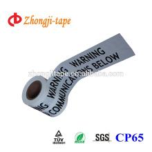 Высокое качество PE подземных коммуникаций маркировочная лента