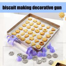 multifunctional DIY syringe kit biscuit cookie cake decorating tool