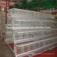 Chinos populares y calientes de tipo A jaulas de 4 niveles para los pollos