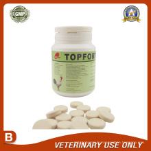 Médicaments vétérinaires d'Oxytétracycline + Colistine Bolus (0,5g)