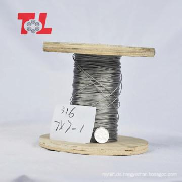 Hochwertiges Edelstahl-Drahtseil Fabrikpreis