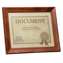 Wooden Certificate Frames for Home Deco