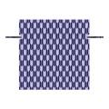 Bolsa de almuerzo con cordón de patrón de flecha azul profundo no tejido