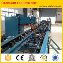 Línea de producción de aleta de radiador de transformador automático