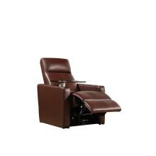 Sofá de salón con sofá moderno de cuero genuino (459)