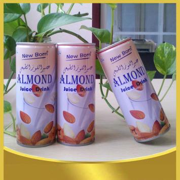 Plant protein beverage- healthy almond juice drink