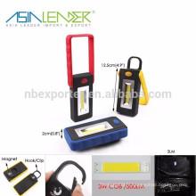 Produits Asia Leader BT-4806 3W COB 500Lumen LED Portable Super Bright LED lumière de travail
