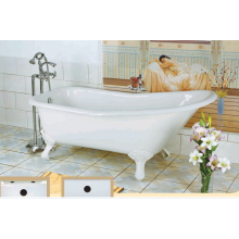 Cheap Slipper Enamel Cast Iron Bathtub