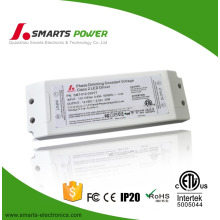 CE UL approved 2.5a constant voltage 30W 12V triac dimmable led driver