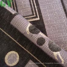 Tela de sofá/cortina/tapizar de chenille del telar jacquar (G44-2713)