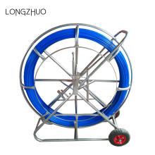 Tirer la tige de poussée de câble de Rodders de conduit de fibre de verre de câble