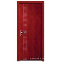 Porta do projeto de madeira maciça (HDC002)