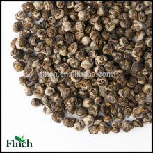 Marcas de chá verde chinês chá de pérola de dragão branco ou chá verde Bai Long Zhu