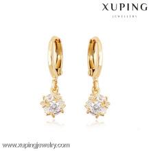 (90072) Xuping moda alta qualidade 18k banhado a ouro brinco