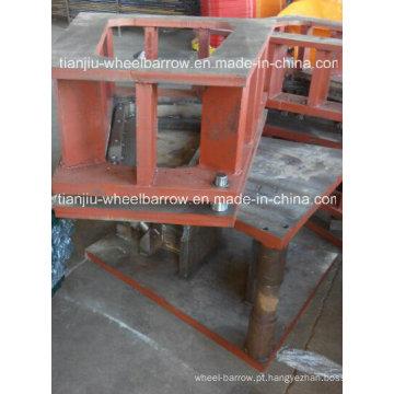 Moldes da bandeja do carrinho de mão para o mercado de Wb3800 África do Sul