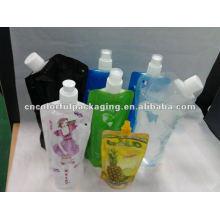 bolsa de embalaje de bebida de agua