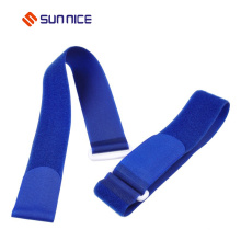 Durable Battery Bundle Straps Hook and Loop Straps with Metal Buckle