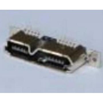 Micro USB 3.0 Receptacle B Type Vertical SMT